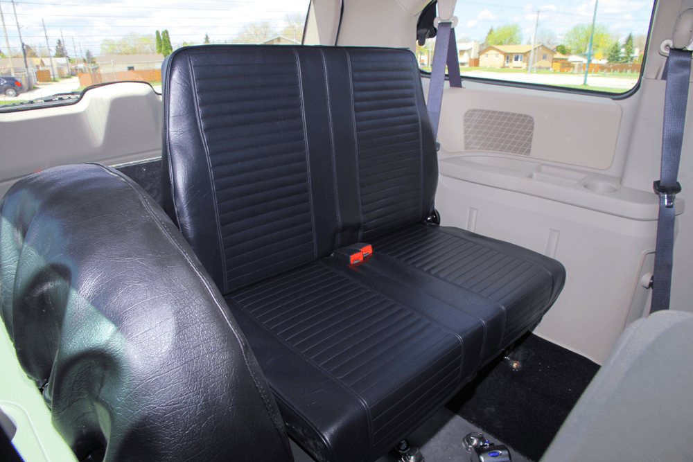 Dodge Grand Caravan Seating >> Winnipeg Wheelchair Van: 6 Seating Configurations For The ...