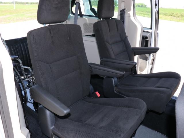 Rear Entry Dodge Grand Caravan Flip & Fold Seats with Wheelchair