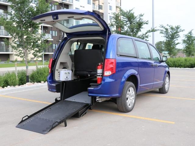 Commercial Rear Entry Dodge Grand Caravan