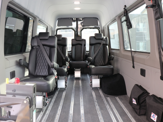 Mercedes Sprinter Executive Wheelchair Shuttle for Retirement Homes